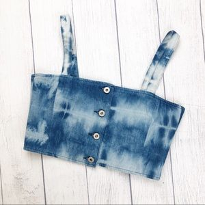 Levi's Made & Crafted Tie Dye Crop Top 2